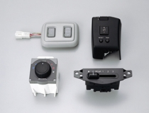 Sunroof switches / Air-conditioning switches / Blower switches