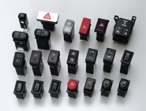 Hazard warning switches / Fog lamp switches / Lighting switches / Wiper control switches