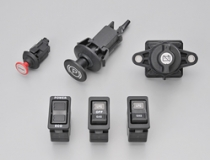 Battery switch / Switch for construction machinery / Parking switch / Panel switches / Stop switch