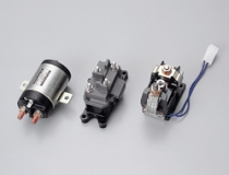 Solenoid relays for forklifts and golf carts (large-current control)